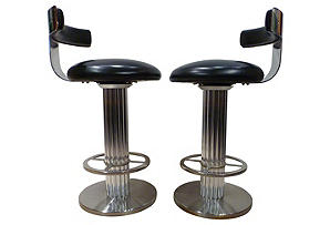Pair of Chrome and Leather Stools.jpg